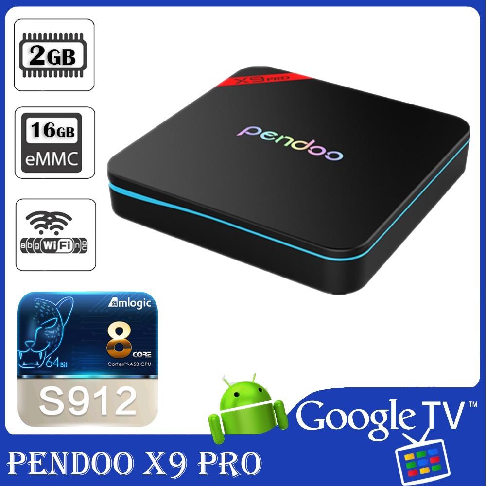 Android TV Box Pendoo X9 Pro - CPU Amlogic S912, Ram 2G, Flash 16GB - Biến Tivi thường thành SmartTV - 3169159 , 584027876 , 322_584027876 , 1390000 , Android-TV-Box-Pendoo-X9-Pro-CPU-Amlogic-S912-Ram-2G-Flash-16GB-Bien-Tivi-thuong-thanh-SmartTV-322_584027876 , shopee.vn , Android TV Box Pendoo X9 Pro - CPU Amlogic S912, Ram 2G, Flash 16GB - Biến Tivi
