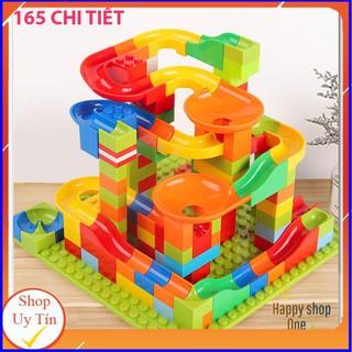 Xếp Hình Lego- Lắp Ghép Thả Bi [165 Chi Tiết]