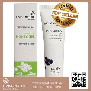 """Gel Trị Mụn Living Nature Manuka Honey Gel giá chỉ còn <strong class=""""price"""">37.000.000.000đ</strong>"""