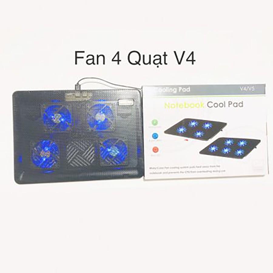 Đế tản nhiệt V4 - 4 Fan