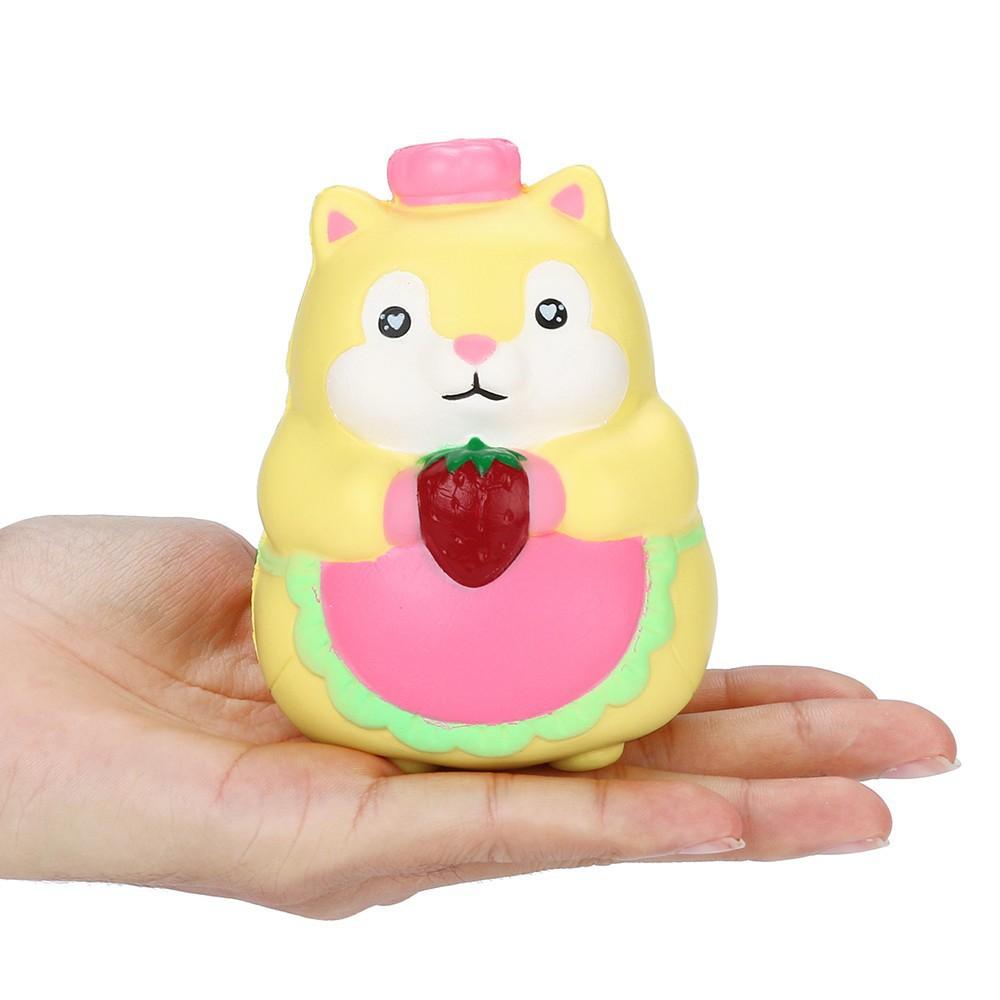 Đồ chơi bóp tay hình động vật hoạt hình dễ thương giúp giảm stress hiệu quả PG500 squishy