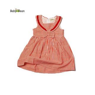Đầm Cotton Sọc cổ Thủy Thủ bé gái BabyBean (8kg - 20kg) thumbnail