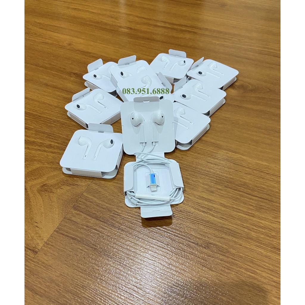 Tai nghe IP cổng cắm Lightning kết nối Bluetooth có Mic, Volume dùng cho ip 7/8/x/xr/xs max