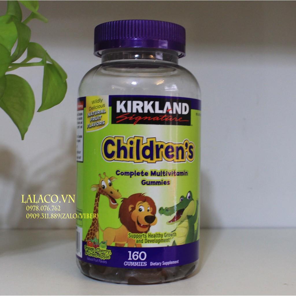 Kẹo dẻo gấu Kirkland Children's Complete Multivitamin 160 viên
