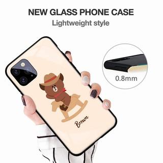 MẪU ĐẸP 🌟2️⃣0️⃣2️⃣1️⃣🌟 Ốp điện thoại in hình brown bear cho iphone xr xs 11 12 pro max 7/8/6s plus – A476 Ảnh thật