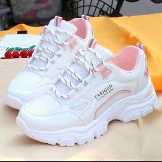 Giày Cũ Hoang Dã Của Phụ Nữ Thời Trang Hàn Quốc Thoải Mái, Giày Thể Thao Sinh ViêninsThủy Triều Giày Lưới Thoáng Khí Thư thumbnail