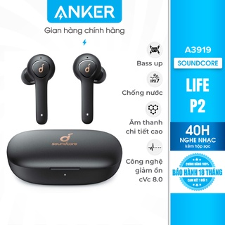 Tai nghe bluetooth TWS SOUNDCORE Life P2 (by Anker)