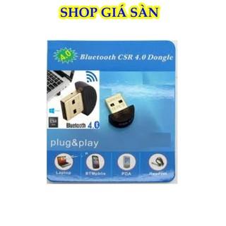 [Freeship] Usb Bluetooth, Usb Thu Blutooth 4.0 Không Dây Cho Pc Win 10 8 7