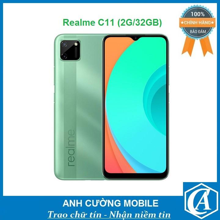 Điện thoại Realme C11 (2G/32GB) – Chính hãng