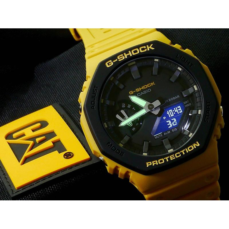 Đồng Hồ Casio Nam Dây Nhựa G-SHOCK GA-2110SU-9A Chính Hãng