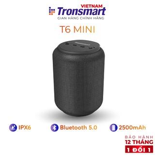 Loa Bluetooth 5.0 Tronsmart Element T6 Mini Chống nước IPX6 - 15W - Hàng chính hãng - Bảo hành 12 tháng 1 đổi 1
