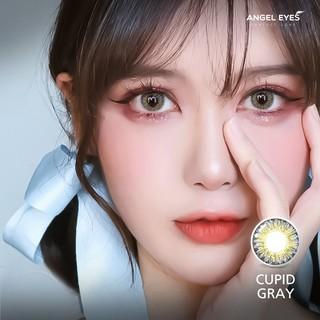 Kính áp tròng Angel Eyes CUPID - Lens màu nâu và lens màu xám chất liệu Silicone Hydrogel - Đường kính 14.5 - Độ cận 0-6 thumbnail
