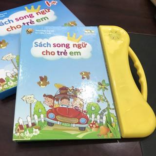 (Bản nâng cấp I+) Sách nói song ngữ trẻ em Thanh Nga, Sách quý điện tử song ngữ Anh – Việt cho bé