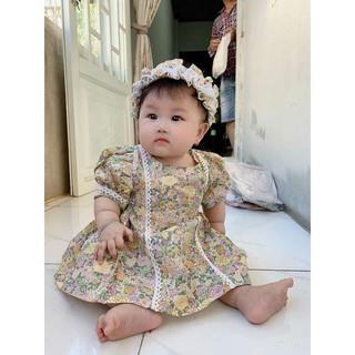 Váy công chúa, mùa thu cho bé diện đầm phong cách, váy bồng bềnh dễ thương