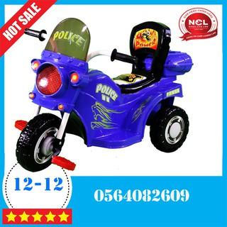 Xe đạp 3 bánh Nhựa Chợ Lớn L9 Police K1 (Có nhạc) – M1377B-X3B minhsonshop
