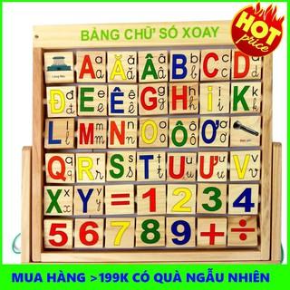 [RẺ NHẤT] Bảng Chữ Số Xoay Tiếng Việt Giúp Bé Vui Chơi Học Tập