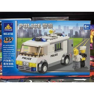 Xếp hình lắp ghép lego KAZI POLICE 6730