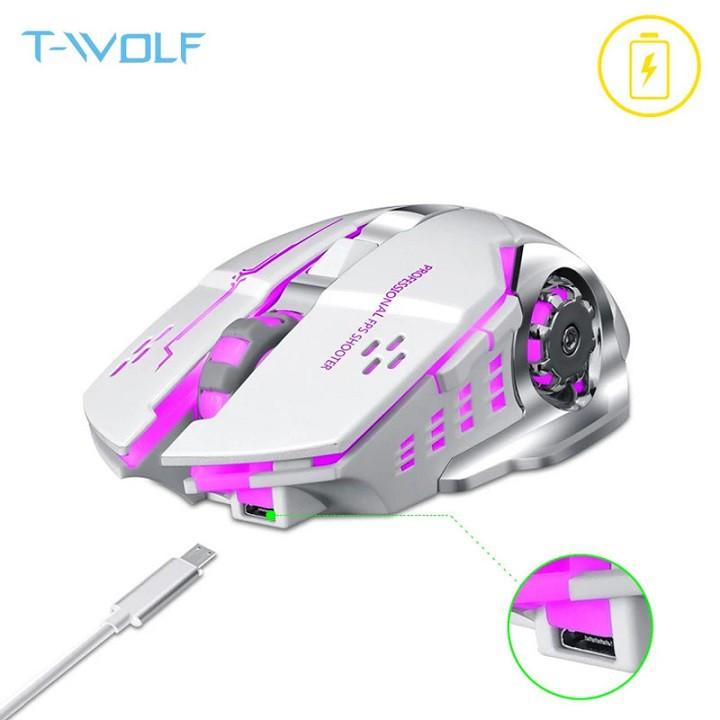 Chuột Game Không Dây Sạc Pin T- Wolf Q13