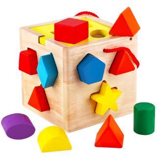 Đồ chơi hình khối và màu sắc – Giáo dục sớm Montessori