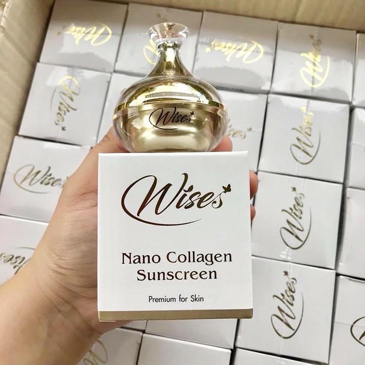12g] Kem Chống Nắng Wise Nano Collagen Sunscreen Thái Lan | Shopee Việt Nam