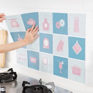 Yêu ThíchGiấy dán tường nhà bếp chống bắn dầu mỡ, chịu nhiệt cao, hoạ tiết trang nhã