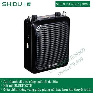 Loa trợ giảng SHIDU S516 công suất lớn(30w) âm siêu to dùng cho hội trường - Hàng Chính Hãng thumbnail