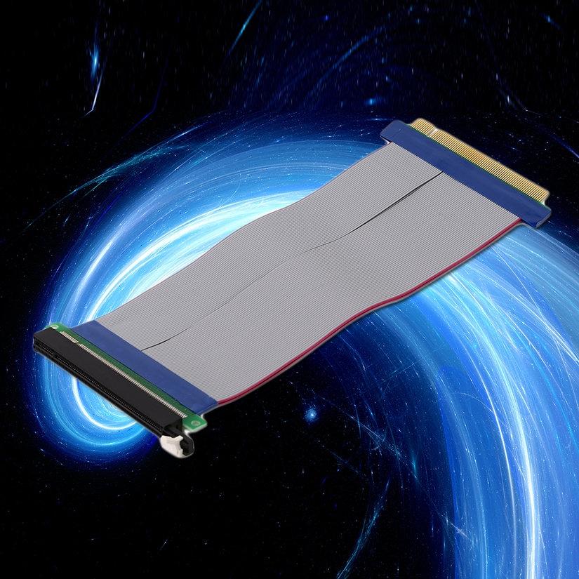 8.15【HOT】Professional PCI-Express PCI-E 16X Riser Card Ribbon Extender Extension Cable Giá chỉ 107.000₫