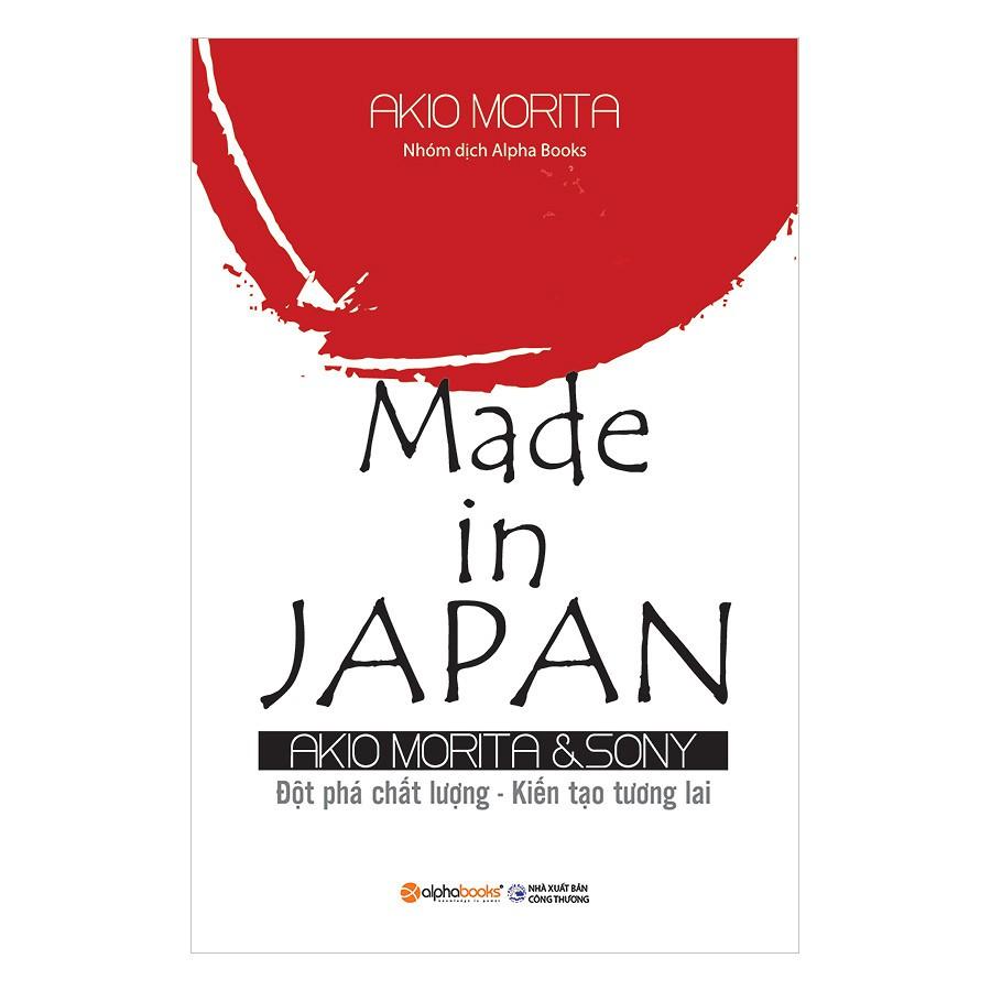 [Sách] Made In Japan (Tái Bản 2018)