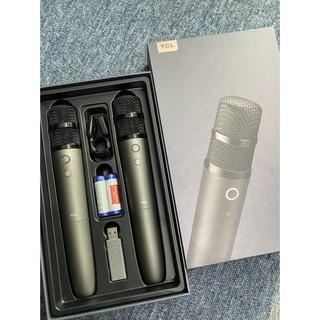 TCL Micro Wireless M1 - 2 MIC ĐÔI - Kết nối bluetooth cắm USB - Chính hãng
