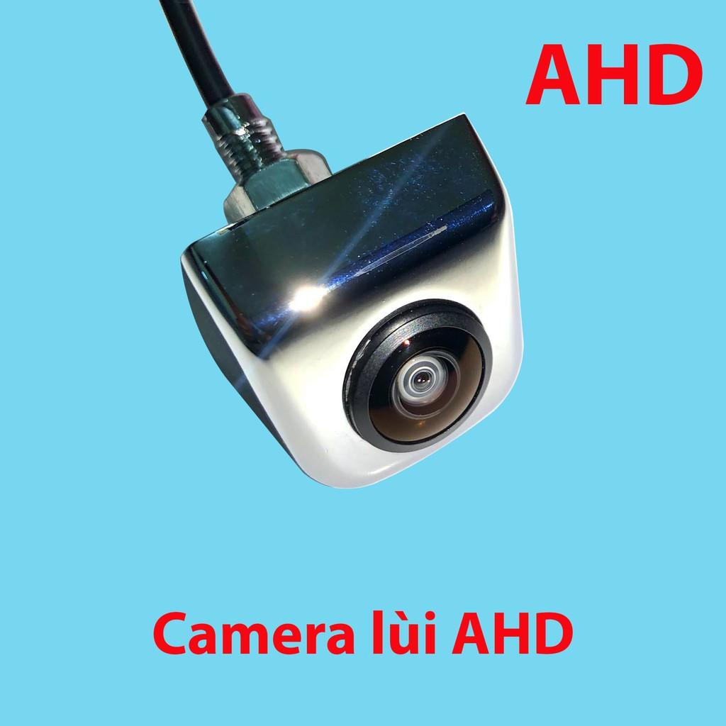 Camera lùi AHD, vỏ hợp kim mạ crom, chống nước