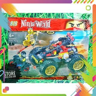Lego NinjaGo Lắp Ráp Xe Đua Ninja ( Đỏ – 199 Mảnh )( Luôn có sẵn )