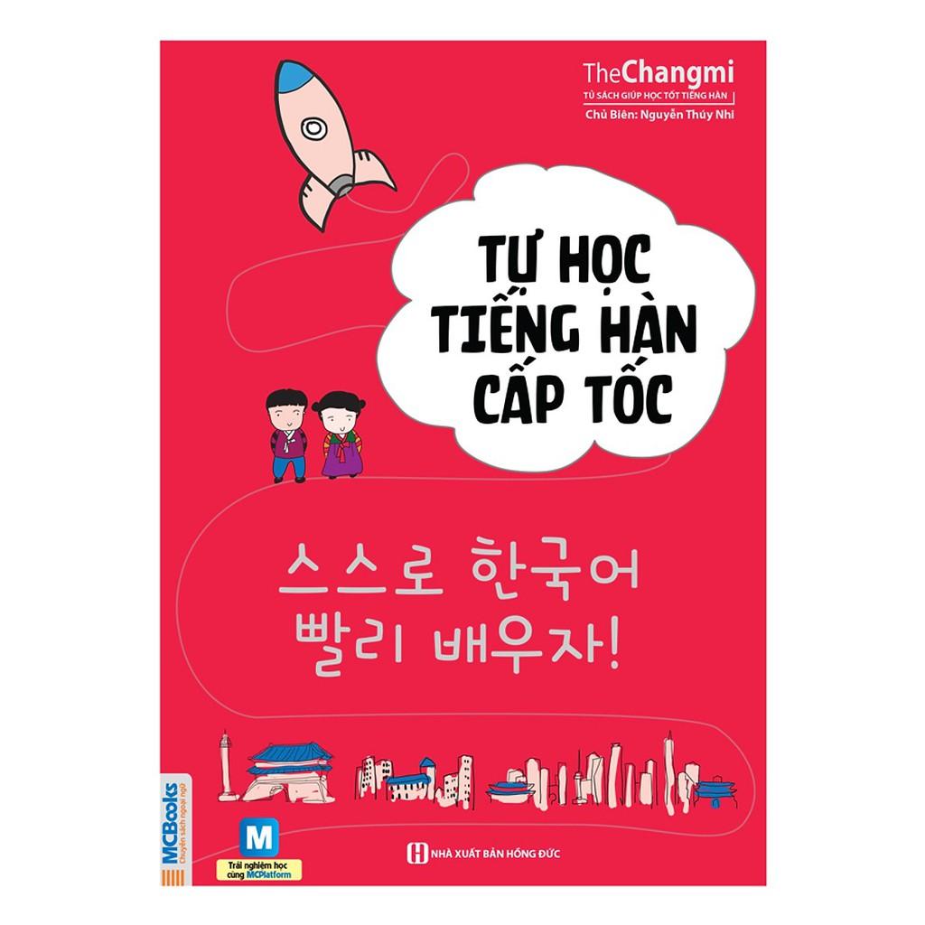 [Sách Hay] Tự Học Tiếng Hàn Cấp Tốc