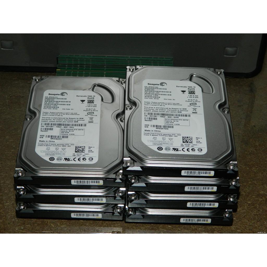 Ổ cứng HDD 250G PC hàng tháo máy SK 100