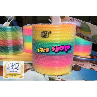Slinky 10 Cm – Lò Xo Ma Thuật Đổi Màu Đánh Lừa Thị Giác (Có Video)