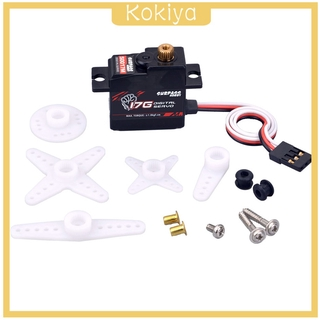 [KOKIYA] Tooth Digital Steering Gear Servo 1/18 RC Plane RC Boat Robot Accessory