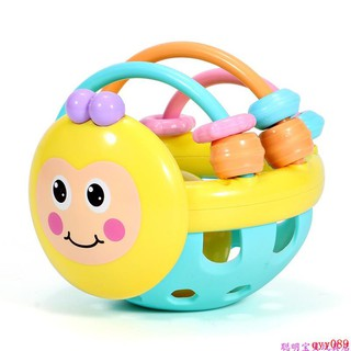 bóng lục lạc đồ chơi cho bé từ 1-12 tháng tuổi