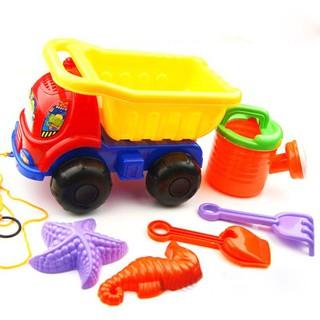 💕Pentagon💕💕Pentagon 6pcs /set Summer Beach Plastic Toys Kids Toy Set Dune Sand Beach Track