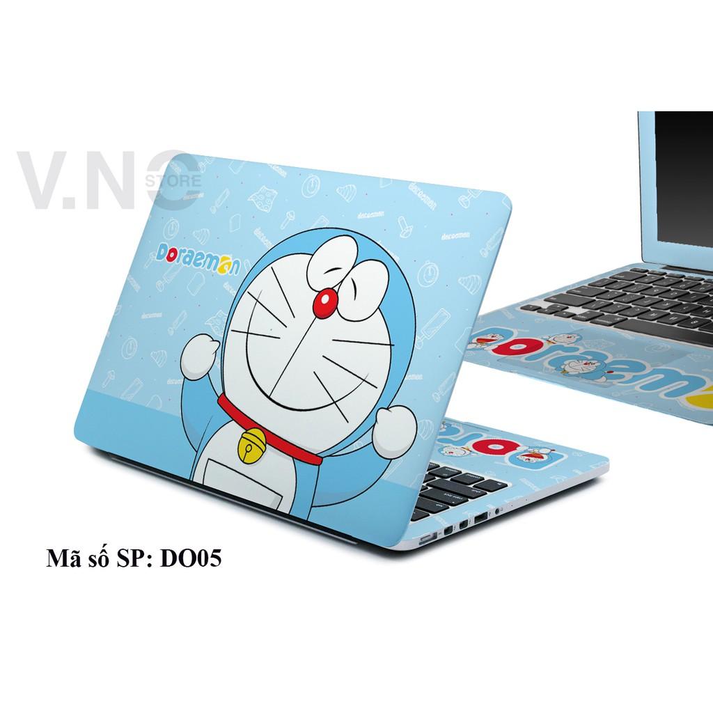 Decal Laptop V.NO SKIN  Doremon1 cao cấp cho các dòng laptop dell/acer/asus/lenovo/hp/macbook