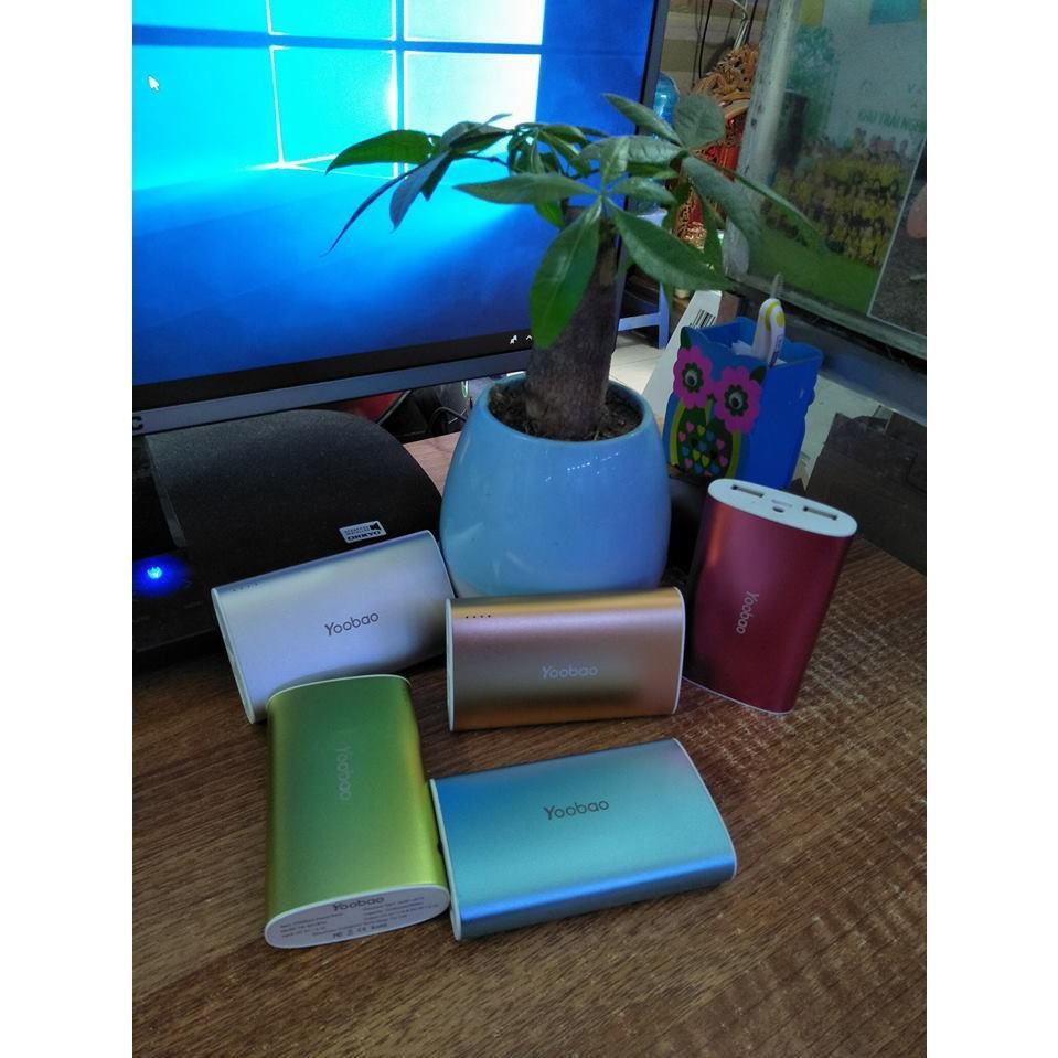 Sạc dự phòng Yoobao 6013Pro 10200mAh (chính hãng) clear kho giá rẻ như cho