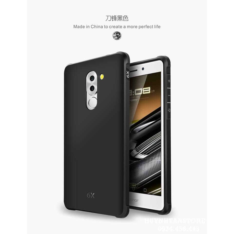 Huawei Gr5 2017 (Honor 6X) _Ôp chống sốc cao su chính hãng Cocose gr52017