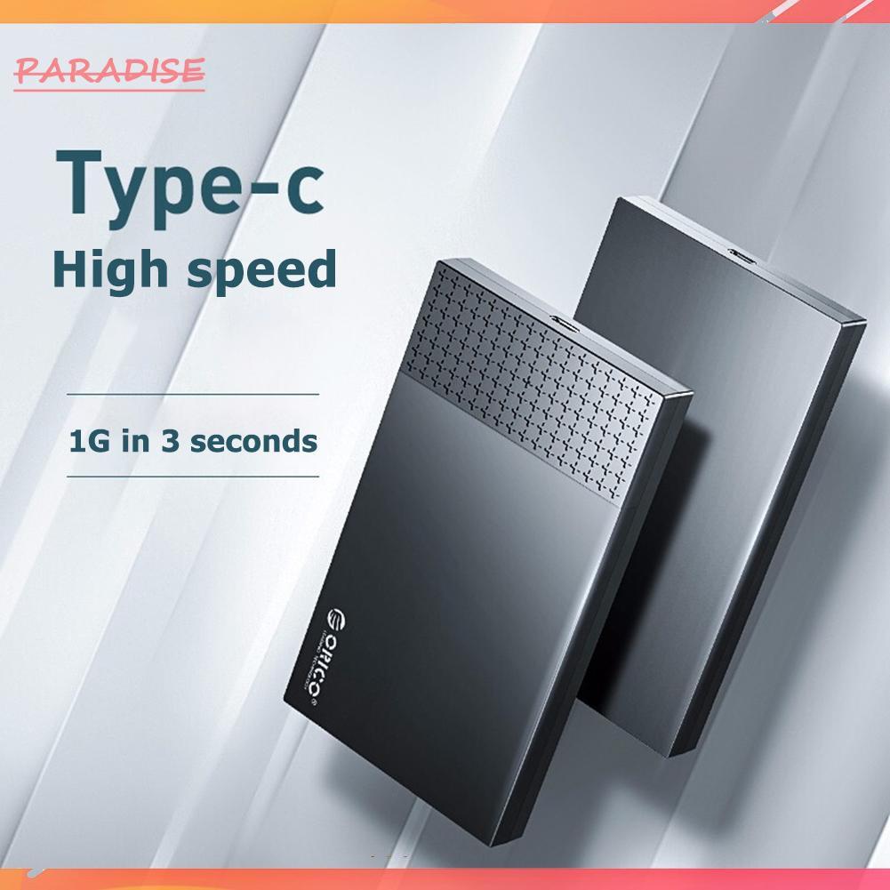Hộp Đựng Ổ Cứng Ngoài Orico 2526c3 Type-C 2.5 Inch Sata Hdd Ssd