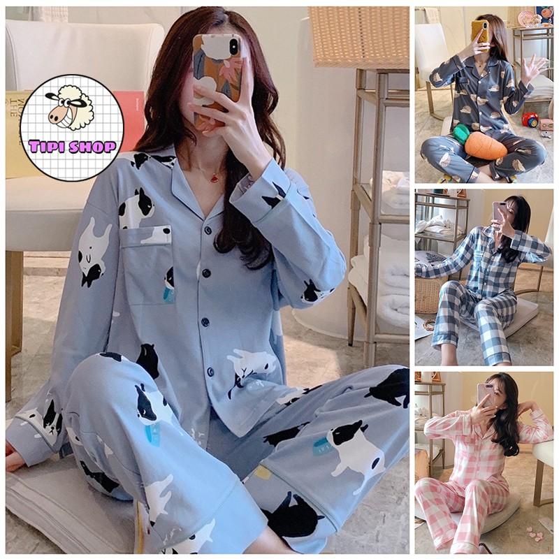 Bộ ngủ pijama cao cấp chất dày ấm