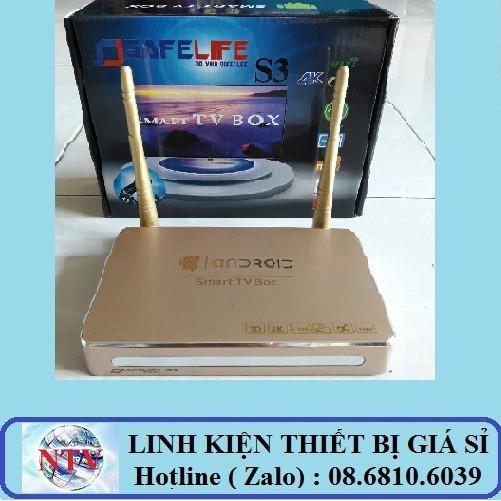 Androi tivi box Safelife S3 / Safelife A12 - Ram 1G Rom 8G - Tặng tài khoản code VIP - 2991125 , 247305525 , 322_247305525 , 545000 , Androi-tivi-box-Safelife-S3--Safelife-A12-Ram-1G-Rom-8G-Tang-tai-khoan-code-VIP-322_247305525 , shopee.vn , Androi tivi box Safelife S3 / Safelife A12 - Ram 1G Rom 8G - Tặng tài khoản code VIP