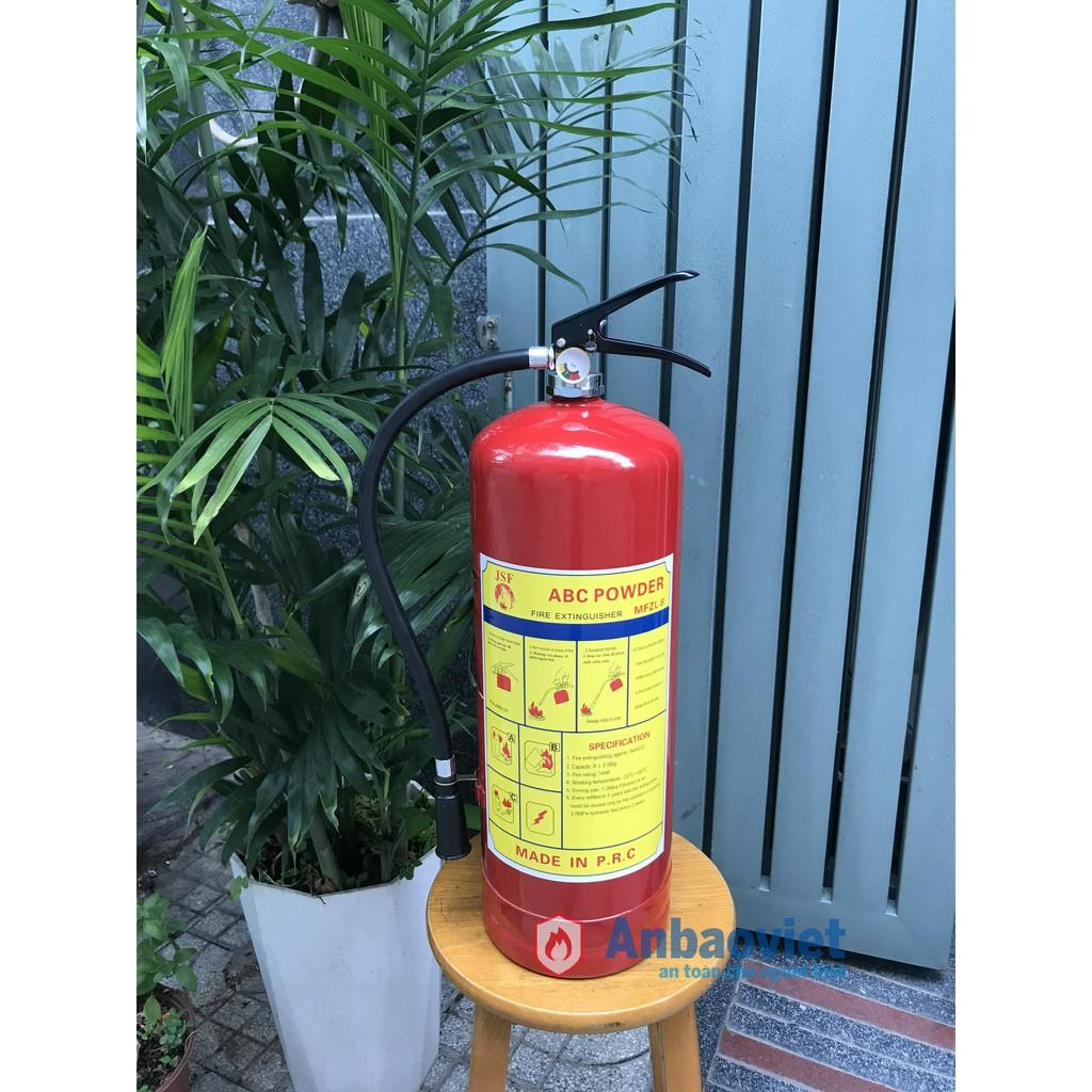 Bình chữa cháy bột BC 8kg – MFZ8