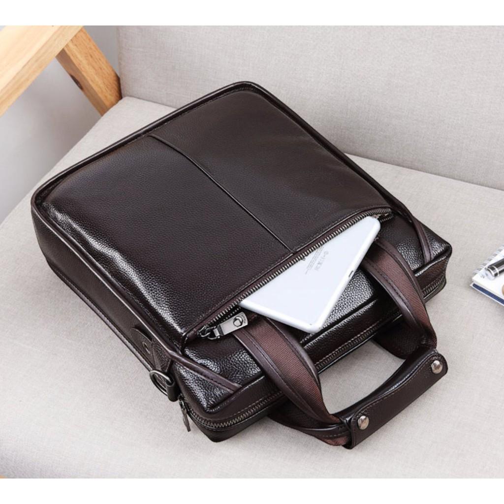 Túi đeo nam cao cấp - FEGER 8895 - Chất liệu da sang trọng / Tặng kèm ví da cầm...