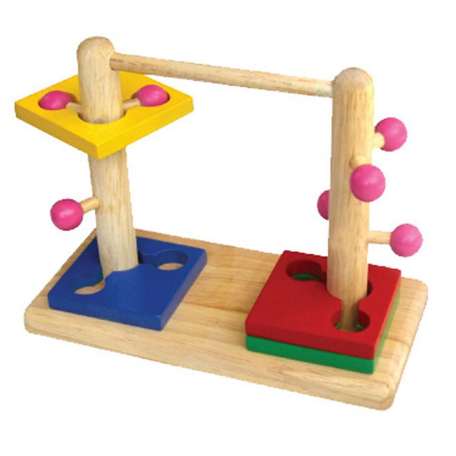 Đồ chơi trẻ em thông minh - Đường luồn đôi WINWIN TOYS