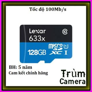 [Mã ELMS5 giảm 7% đơn 300K] Thẻ nhớ Lexar 128GB Class10 100Mb/s-Chính Hãng Mai Hoàng Phân Phối