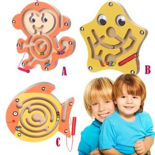 Đồ chơi mê cung bằng gỗ sáng tạo cho trẻ