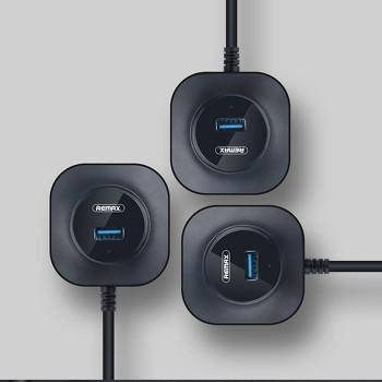 BỘ CHIA CỔNG USB 3.0 REMAX RU-U8 ✔️ Bảo hành toàn quốc 12 tháng