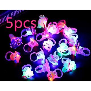 Creative Luminescent Ring Children's Flash Ring Luminescent Finger Lamp